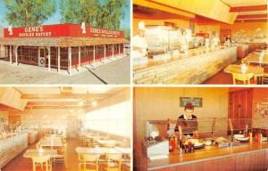 Scottsdale Arizona Genes Broiler Buffet Multiview Vintage Postcard K50040