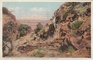 GRAND CANYON National Park, Arizona; 10-20s; Hermit Trail , Fred Harvey H-2826