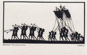 DIEFENBACH : Fantasy Silhouette , 00-10s ; Teilbild 27
