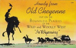 Wyoming Howdy From Old Cheyenne 1944