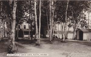 RP: Main Lodge at Birch Lodge , PLEVNA , Ontario , Canada , 30-40s