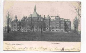 The High School,Olean, New York, PU-1911