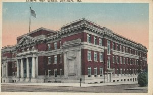 BALTIMORE , Maryland , 1910s ; Eastern High SChool