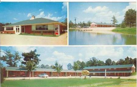 Blake's Motel & Restaurant, Candor, North Carolina,40-60s