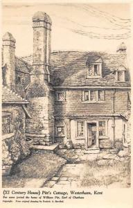 Pitt's Cottage, Westerham Kent (XI Century House)
