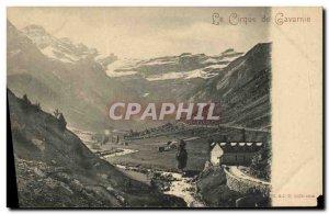 Old Postcard Gavarnie Circus