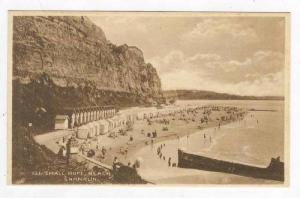 Bird´s Eye View, Beachgoers, Changing Bungalows, Small Hope Beach, Shanklin,...