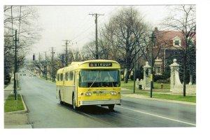 Dayton City Transit Trolley Coach, Stroop, Dayton, Ohio, 1972