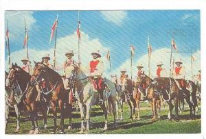 Mounted Police, Barbados, West Indies, Advertisement: Cunard Line, PU