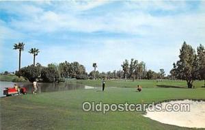 Golf Postcard Chandler, AZ, USA San Marcos Resort & Country Club