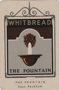 Whitbread Brewers Vintage Metal Trade Card Inn Signs 1st Series 1949 No 48 Th...
