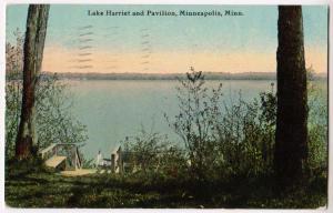 Lake Harriet & Pavilion, Minneapolis Minn
