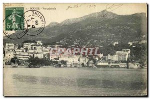 Postcard Old Bourgie Vue Generale