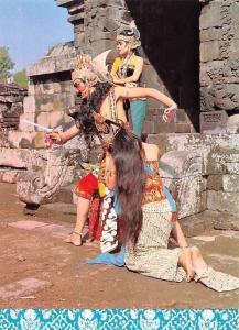 Indonesia Ramayana Ballet, Borobudur Restaurant, Shinta Rahwana and Trijatha