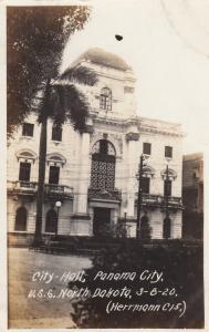 RP: Panama City , 1920 ; City Hall
