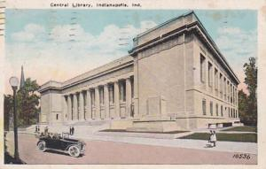 Indiana Indianapolis Central Library 1925
