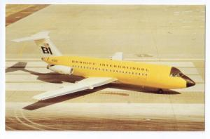 Braniff Airways BAC-111 203AE Aircraft Dallas Love Airfield Aviation Postcard