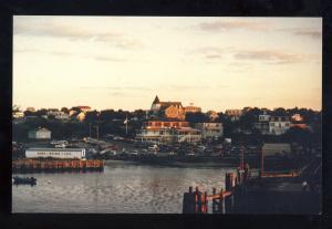New Shorham, Block Island, Rhode Island/RI Postcard, View Of Shore From Boat