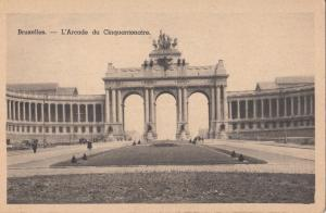 Belgium, Brussels, Bruxelles, L'Arcade du Cinquantenaire, unused Postcard