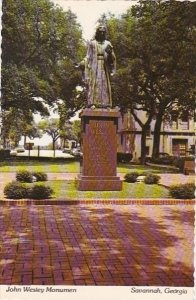 John Wesleyt Monument Savannah Georgia