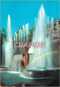Modern Postcard Tivoli Villa d'Este Fountain Organ Detail