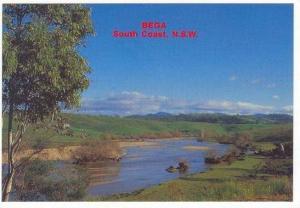 The Bega River Flowing Through The Rich Bega Valley, South Coast, N.S.W., Aus...