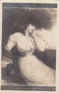 RP: Salon 1903 ; MME. Le Roy D'Etiolles-Jeune Femme; TUCK Seris XIII. No. 107
