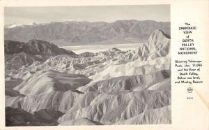 Death Valley CA Zabriskie View Frasher Real Photo Antique Postcard K37631