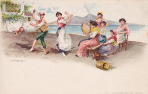 Tarantella, Italian Dancers, NAPOLI (Campania), Italy, 1900-1910s