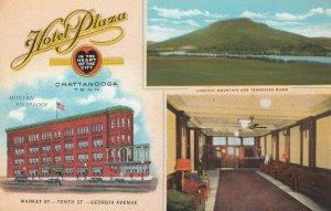 CHATTANOGA , Tennessee , 1910 ; Hotel Plaza