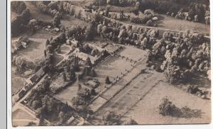 Aerial View Of Unidentified Country House RP PPC Unknown Area, Unused, c 1920's