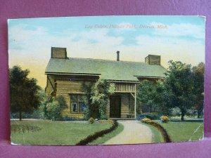 Old postcard Palmer Park, Detroit, MI