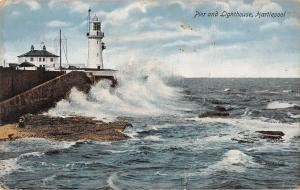 BR95883 valentine s pier and lighthouse hartlepool   uk