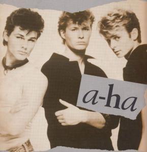 A-Ha The Sun Always Shines On TV Rare XL USA Piano Sheet Music