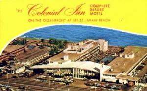 Colonial Inn Miami Beach FL 1964