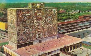 Library Ciudad University Mexico