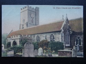 Kent BROADSTAIRS St. Peters Church c1906 Postcard by J. Welch & Sons