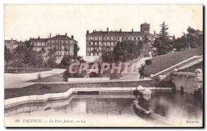 Old Postcard Valence Parc Jouvet