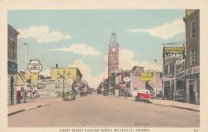 BELLEVILLE , Ontario , Canada , 1930s ; Front Street , North