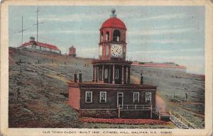 Canada N.S. Halifax, Old Town Clock (built 1800) Citadel Hill