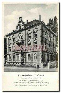 Postcard Modern Fremdenheim Stuermer