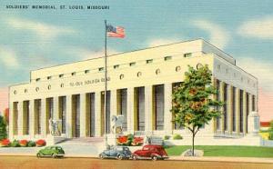 MO - St. Louis, Soldiers' Memorial