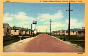 Texas McKinney D Street Ashburn General Hospital Curteich