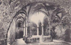 CANNES, Alpes Maritimes, France, 1900-1910s; Interiur Du Vieux Chateau St. Ho...