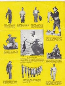 Tri-Fold ; Fishing Secrets of Experts , PU-1939 ; The Weezel Bait Co. , Cinci...