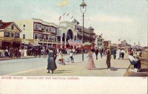 pre-1907 REVERE BEACH, BOULEVARD AND NAUTICAL-GARDEN, MASSACHUSETTS