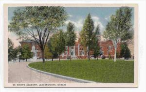 St. Mary's Academy, Leavenworth, Kansas, 1910-1920s