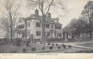 SUFFIELD , Connecticut, 1907 ; Brookside
