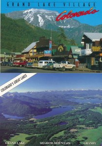 (4 cards) Grand Lake Village CO, Colorado
