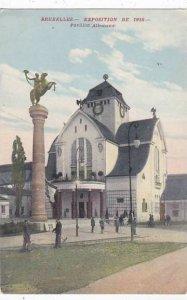 Exposition Universelle Bruxelles 1910 Pavillon Allemande